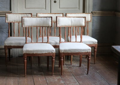 Item no14, Gustavian chairs